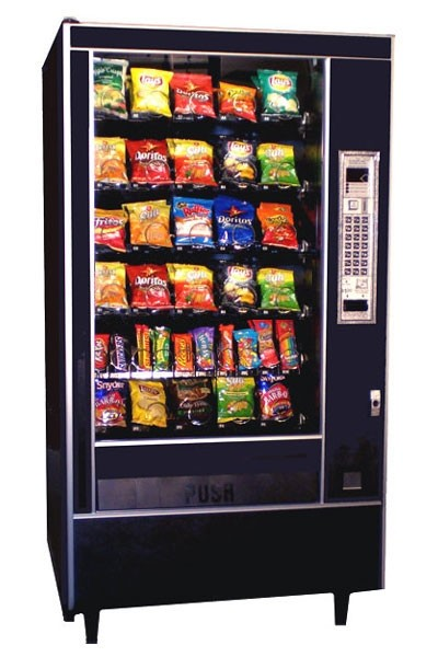 Refurbished AP 7600 Snack Machine Image