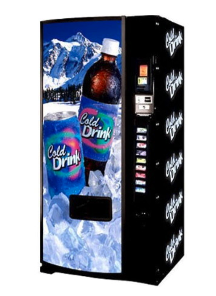 Refurbished Dixie Narco 501E Drink Machine Image