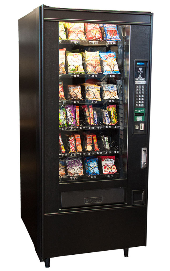 Refurbished National 148 Snack Machines Image